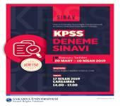 KPSS Deneme Sınavına Girecek Öğrencilere Duyuru