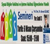 KPSS Semineri Düzenlendi