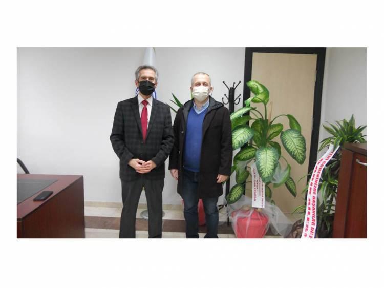 Rektör Prof. Dr. Fatih SAVAŞAN Dekanlığımıza ziyarette bulundu